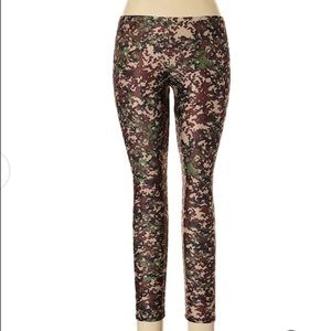 Zara Terez Camouflage Leggings, Medium